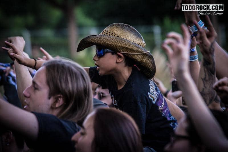 Público @Leyendas del Rock 2019. Foto: Javier Aznar