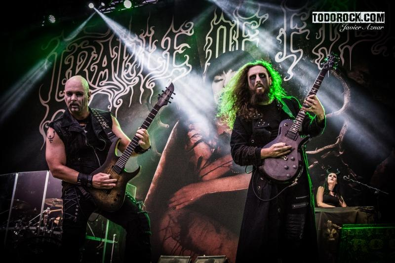 Cradle Of Filth @ Leyendas del Rock 2019. Foto: Javier Aznar
