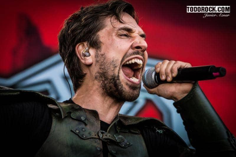 Gloryhammer @Leyendas del Rock 2019. Foto: Javier Aznar