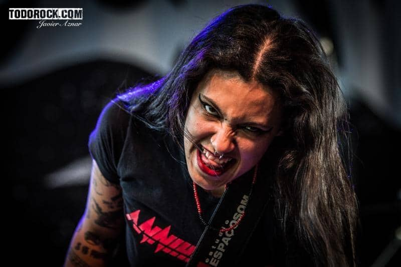 Nervosa @Leyendas del Rock 2019. Foto: Javier Aznar