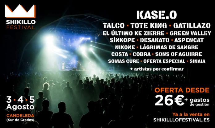 Primeras bandas confirmadas para el Shikillo Festival 2017