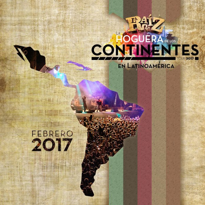 La Raíz confirman que visitarán Latinoamérica en febrero