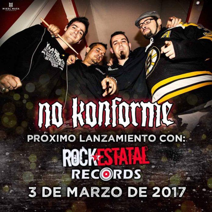 Nuevo disco de No Konforme para el 3 de marzo