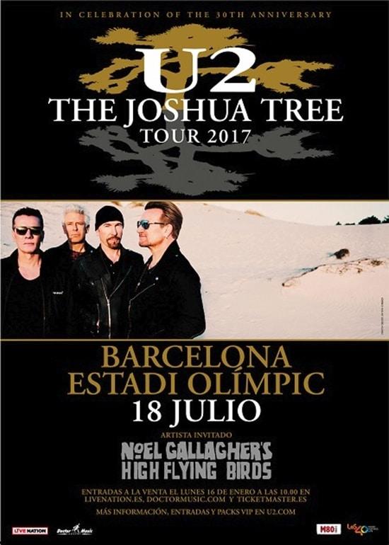 Entradas agotadas en tiempo récord para el concierto de U2 en Barcelona