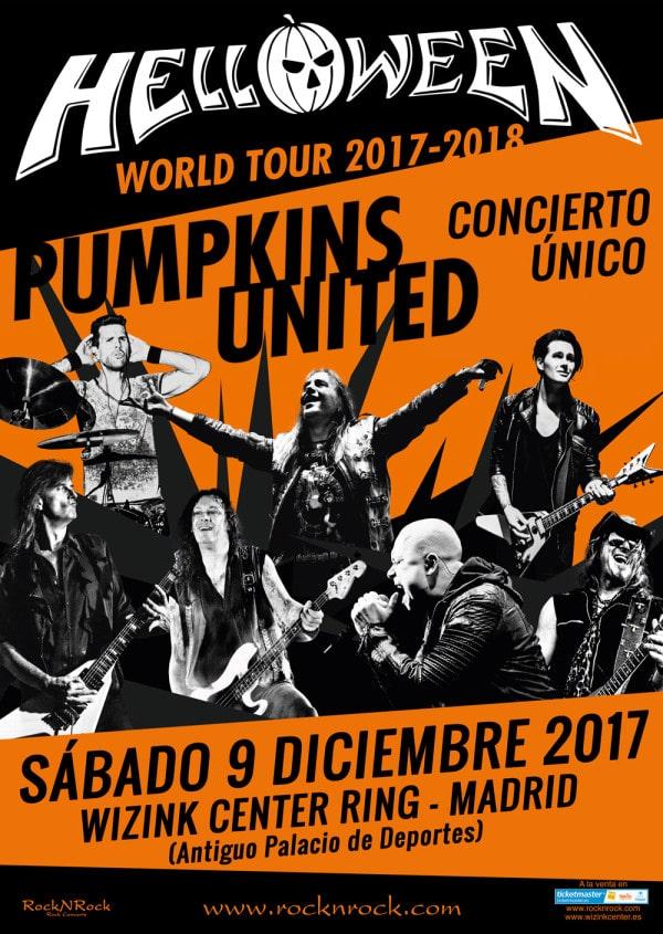 Se amplía el aforo para el concierto de Helloween del 9 de diciembre en Madrid
