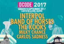 A falta del cabeza de cartel, así va quedando el cartel del DCODE Festival 2017 de Madrid