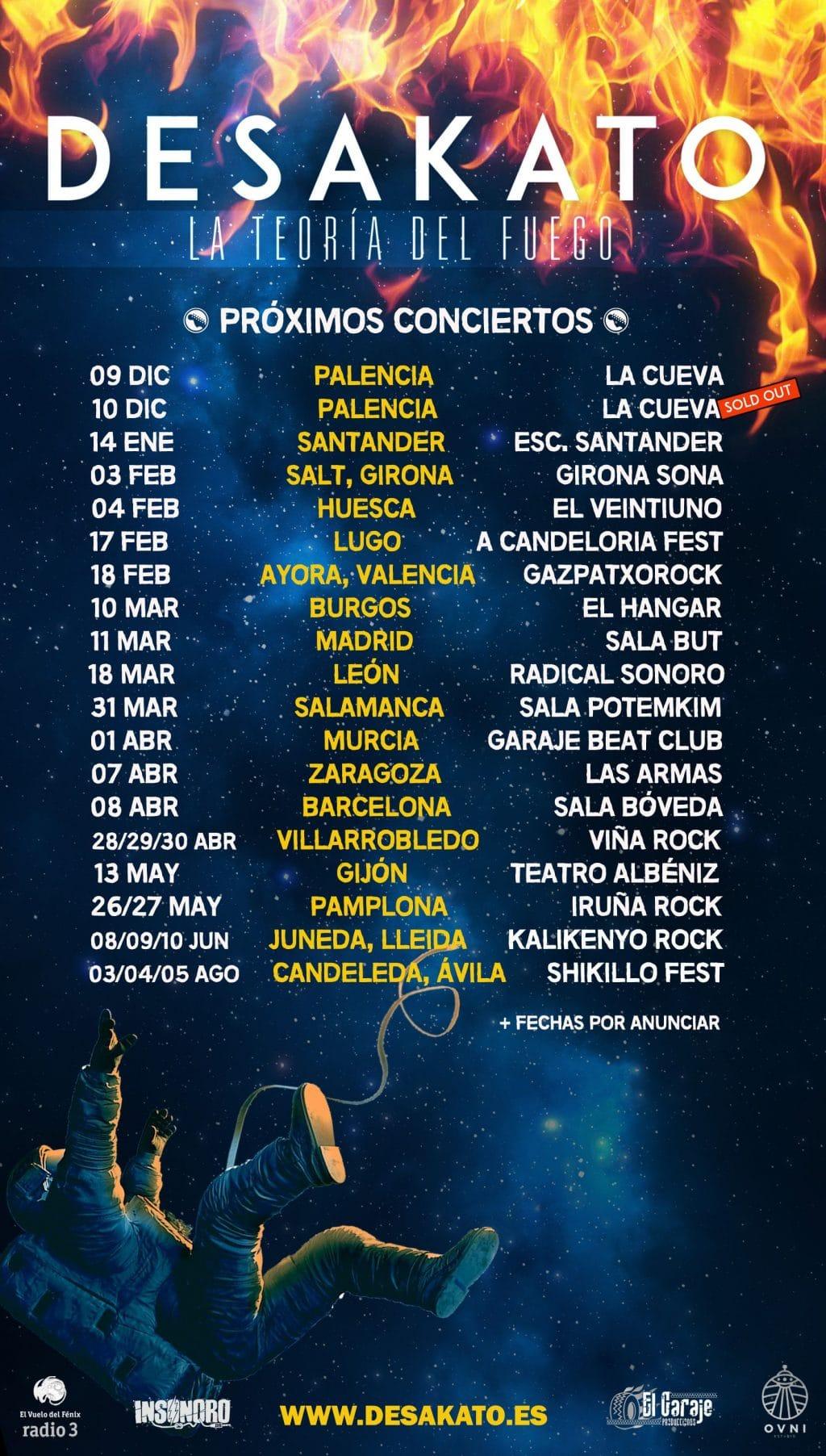 Video de parte del concierto de Desakato en el Escenario Santander del pasado 14 de enero