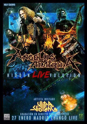Angelus Apatrida: grabación de CD/DVD en Madrid