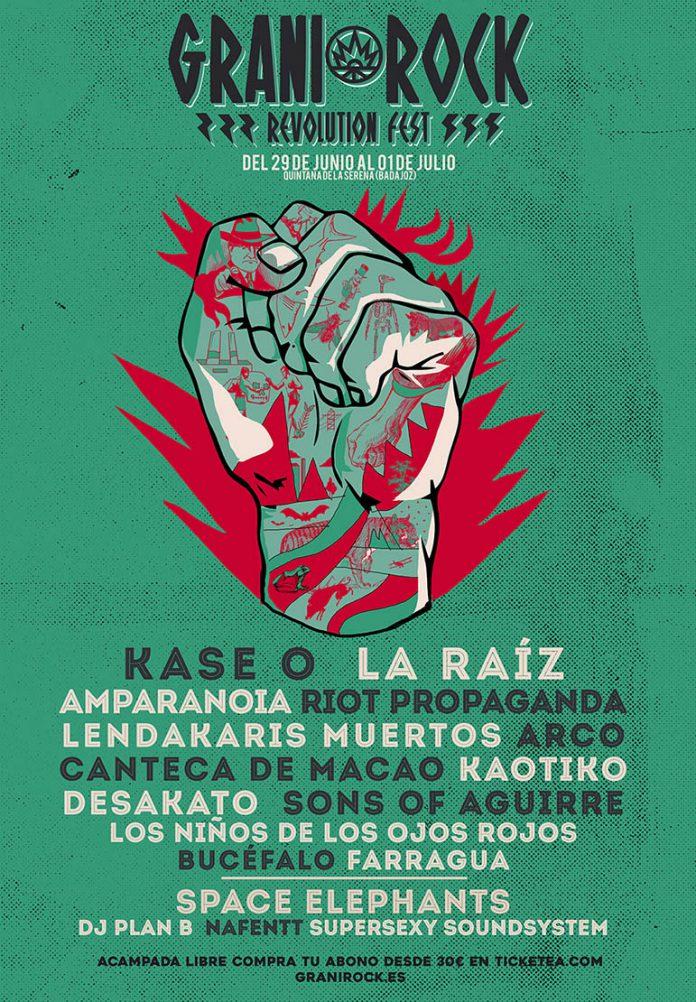 El festival Granirock completa su cartel con Riot Propaganda