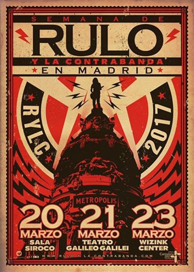 Rulo anuncia tres conciertos en Madrid durante la misma semana en marzo