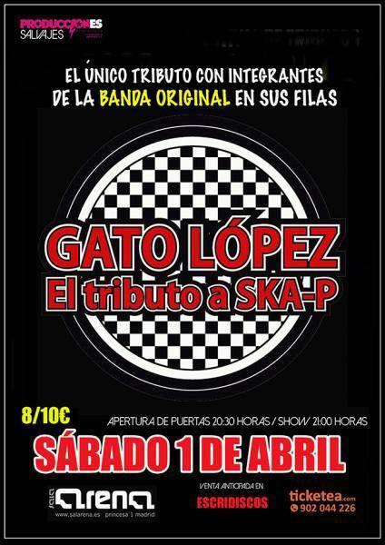 El Gato López se suben de nuevo a los escenarios el 1 de abril en Madrid