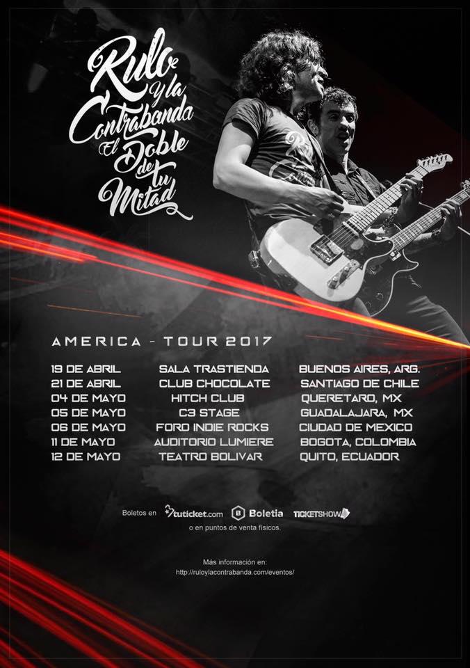 Rulo y La Contrabanda viajarán hasta América para presentar