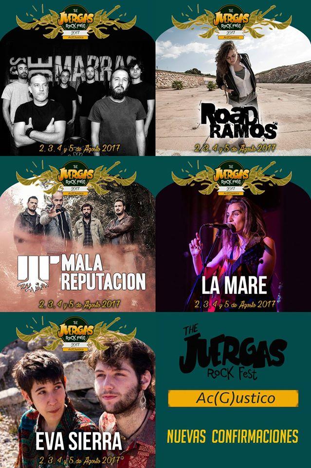 The Juergas Rock Fest 2017 anuncia nuevas confirmaciones