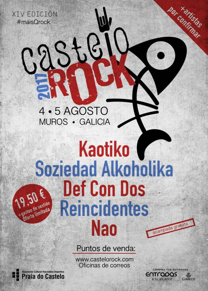 Soziedad Alkohólika y Def Con Dos en el primer avance del festival Castelo Rock de Muros, Galicia
