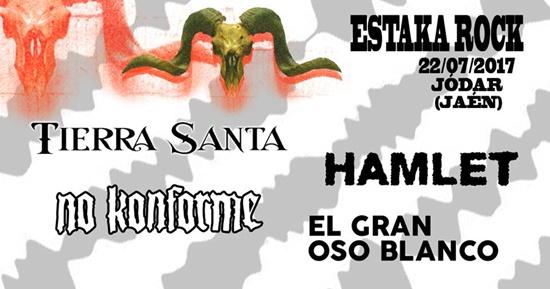 Tierra Santa y Hamlet entre las primeras confirmaciones del festival Estaka Rock de Jódar, Jaén
