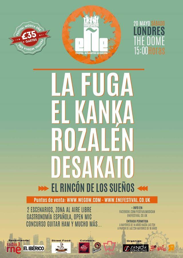 Desakato sustituirá a Ilegales en el Festival Música Ñ de Londres