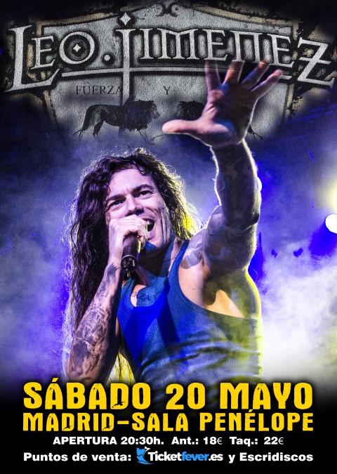 Leo Jiménez: estreno en video del cover de Neon Knights de Black Sabbath y próximo concierto en Madrid