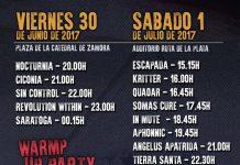 Cartel definitivo del ZLive Rock Festival de Zamora