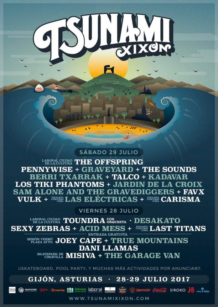 Distribución por días y últimas noticias del Festival Tsunami Xixón