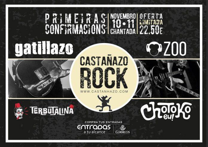 Gatillazo y ZOO entre las primeras confirmaciones del Castañazo Rock 2017