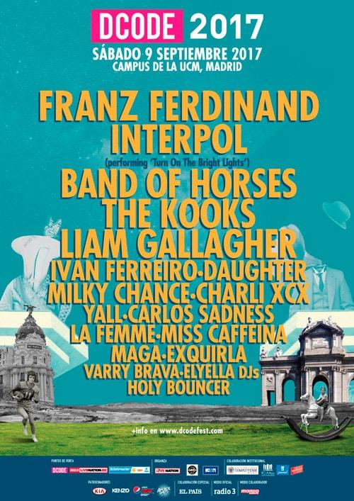 Franz Ferdinand encabezará la próxima edición del DCODE Festival