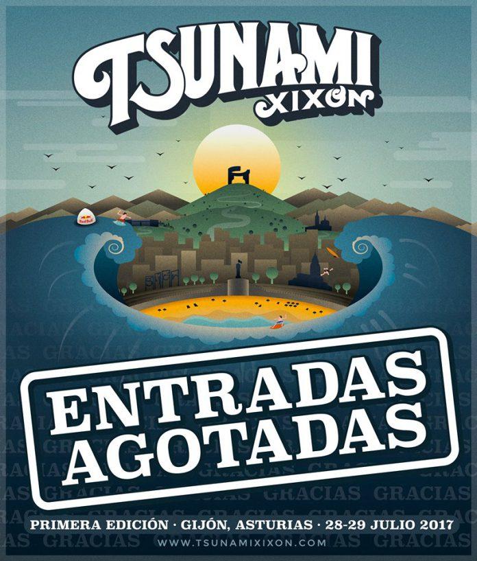 Tsunami Xixón cuelga el cartel de