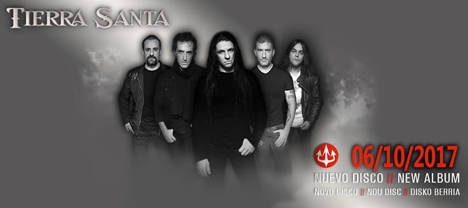 Tierra Santa anuncian próximo álbum de estudio para el mes de octubre