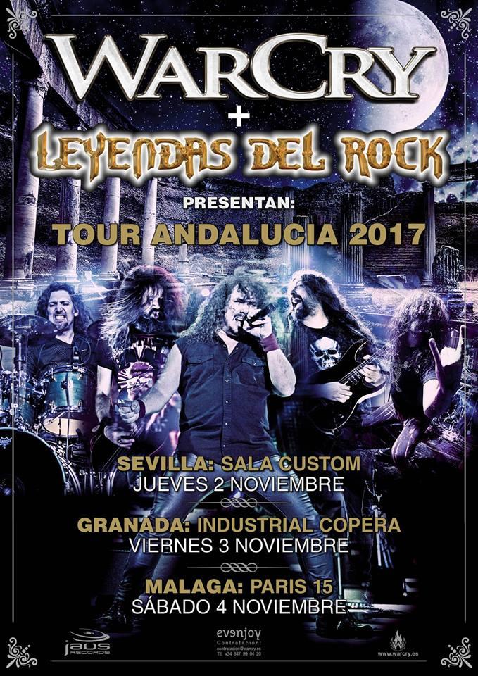 Warcry visitarán Sevilla, Granada y Málaga dentro de una mini gira por Andalucía en noviembre