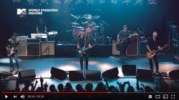 Video del secret show de Foo Fighters del pasado 16 de septiembre de Barcelona