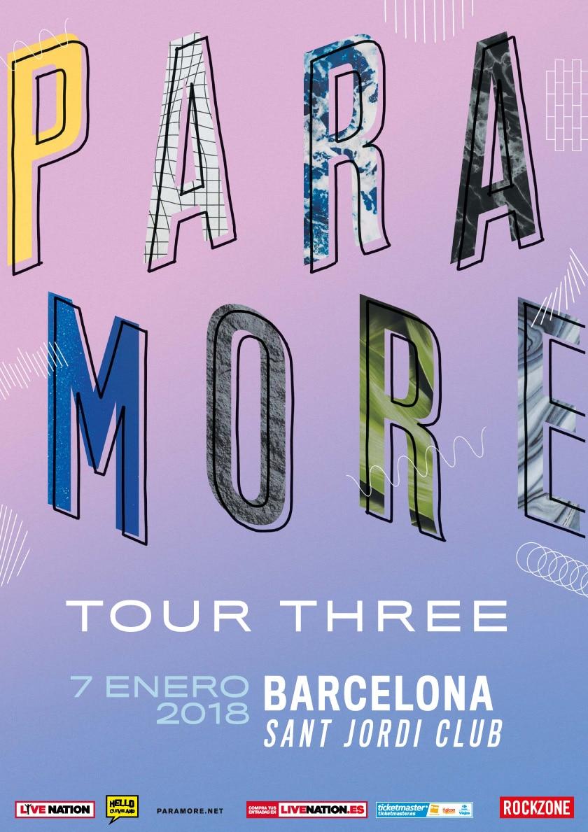 Paramore confirma una única fecha en la península para el ... Paramore Ticketmaster
