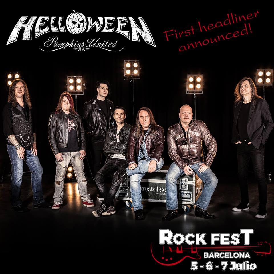 Primeras confirmaciones y cabeza de cartel para la próxima edición del Rock Fest Barcelona