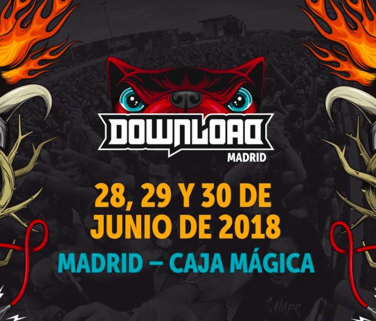 Live Nation confirma las fechas para la próxima edición de Download Festival Madrid