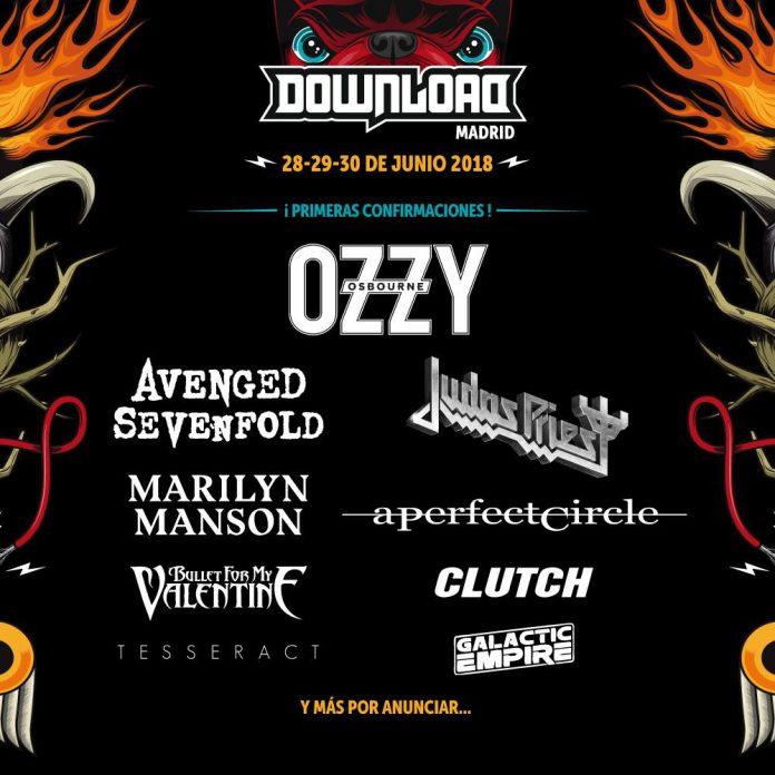 Primeras confirmaciones para el Download Festival Madrid 2018 y primeros plazos para la compra de abonos
