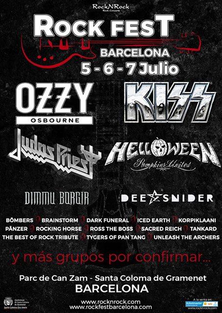 Rock Fest Barcelona anuncia una nueva tanda de confirmaciones