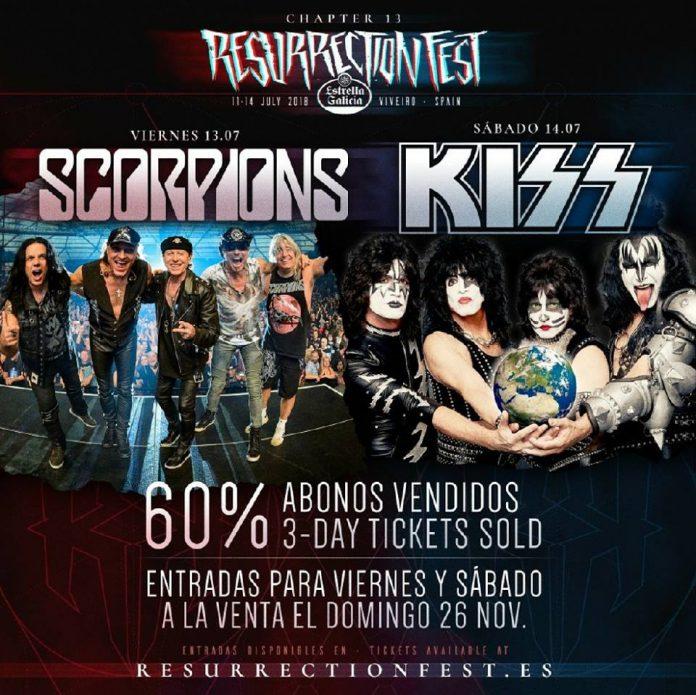 Ya a la venta las entradas de día para el Resurrection Fest XIII