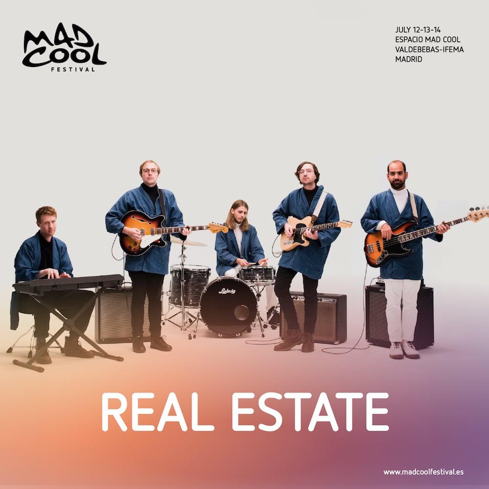 Real Estate, MGMT y Ángel Stanich son las nuevas incorporaciones al Mad Cool Festival 2018