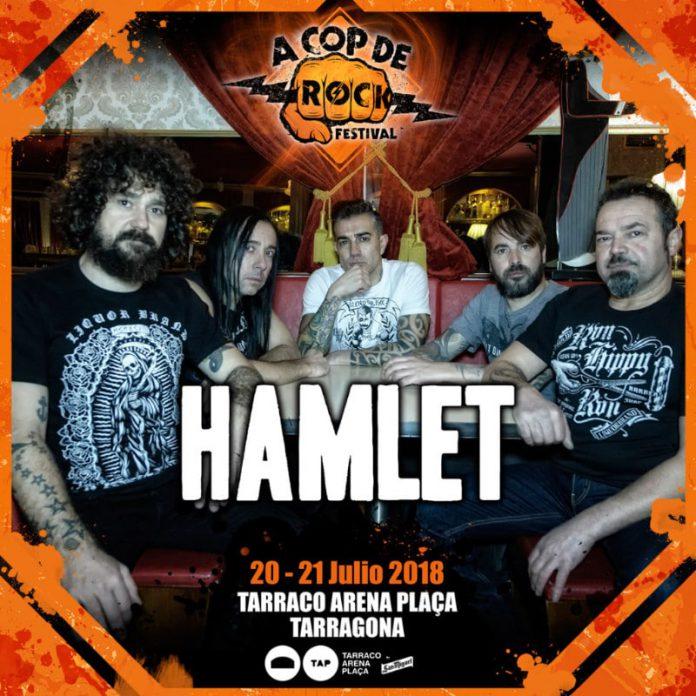 Primeros nombres para el A Cop de Rock Festival 2018 de Tarragona
