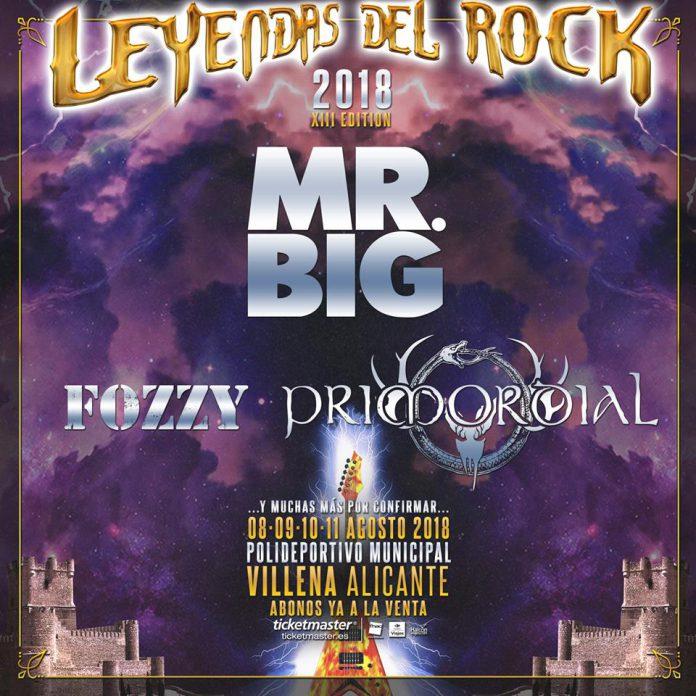 Mr. Big encabezan la nueva tanda de confirmaciones para el festival Leyendas del Rock 2018