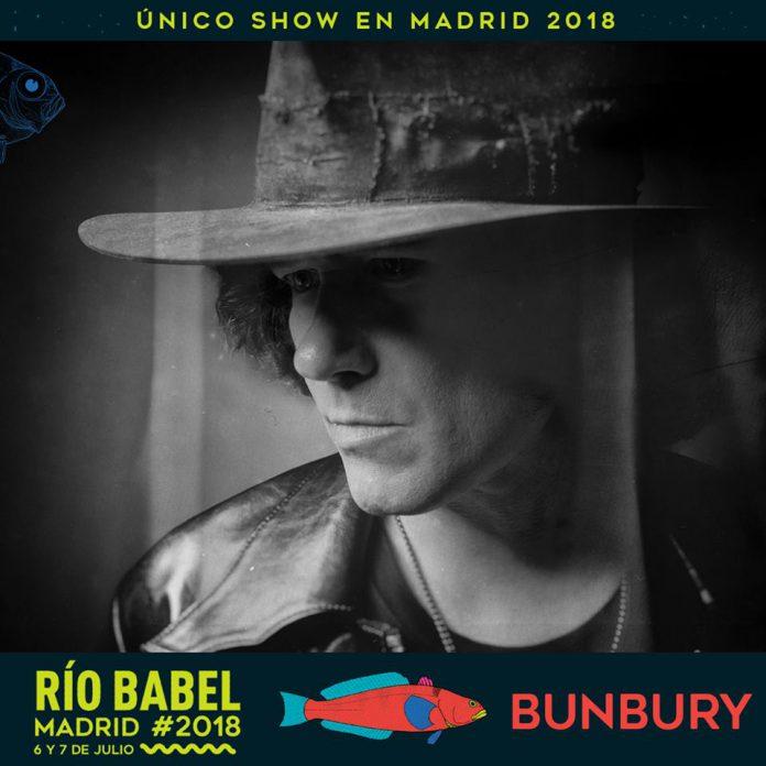Bunbury confirmado para el Weekend Beach Festival y para el Rio Babel Festival