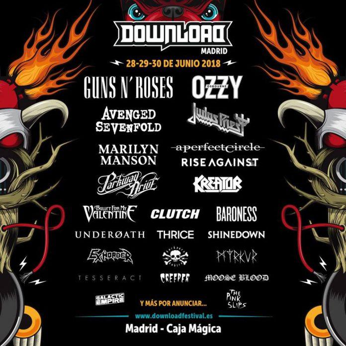 Nueva tanda de confirmaciones para el Download Festival 2018