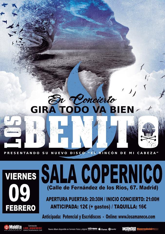 ACTUALIZADA: Próximas fechas de LOS BENITO presentando