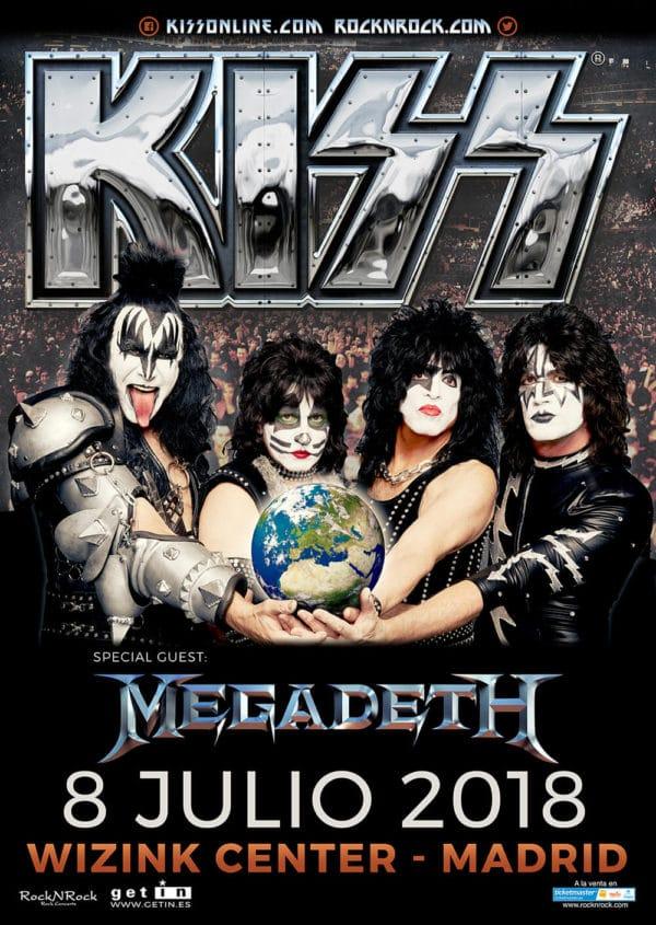 Revive el concierto completo de KISS en Madrid