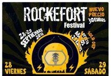 Cartel completo del Rockefort Festival 2017 de Cáceres