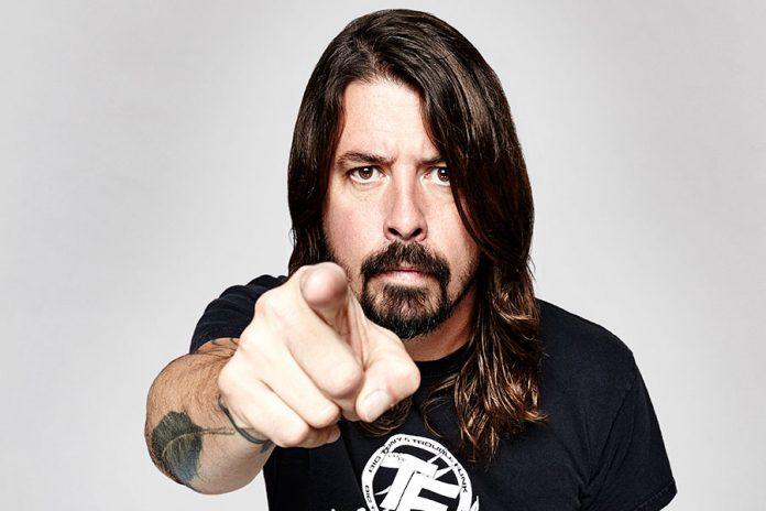 Dave Grohl de Foo Fighters y su rutina justo antes de un concierto