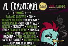 Distribución por días del festival A Candeloria 2018 de Lugo