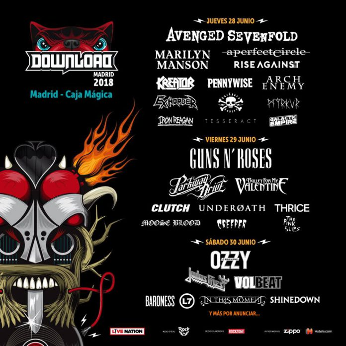 Download Festival Madrid 2018: cartel por días actualizado