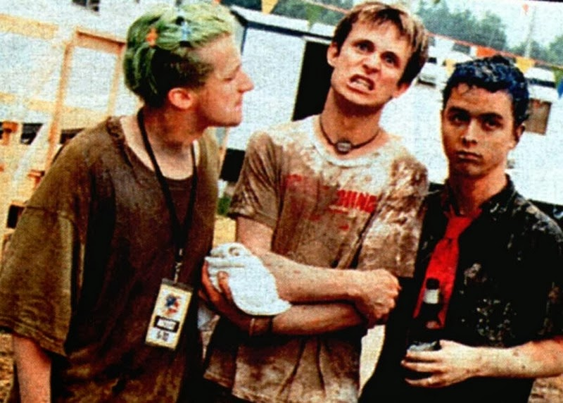 Green Day y su irrepetible actuación en el festival Woddstock 94