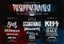 Cartel completo de la V edición del Aquelarre Metalrock Fest en Murcia