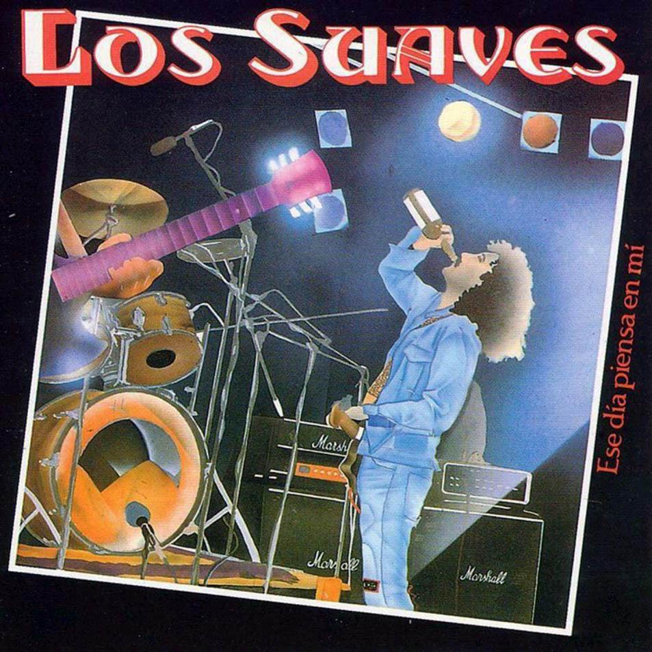 Actuación de Los Suaves hace 30 años en la televisión gallega