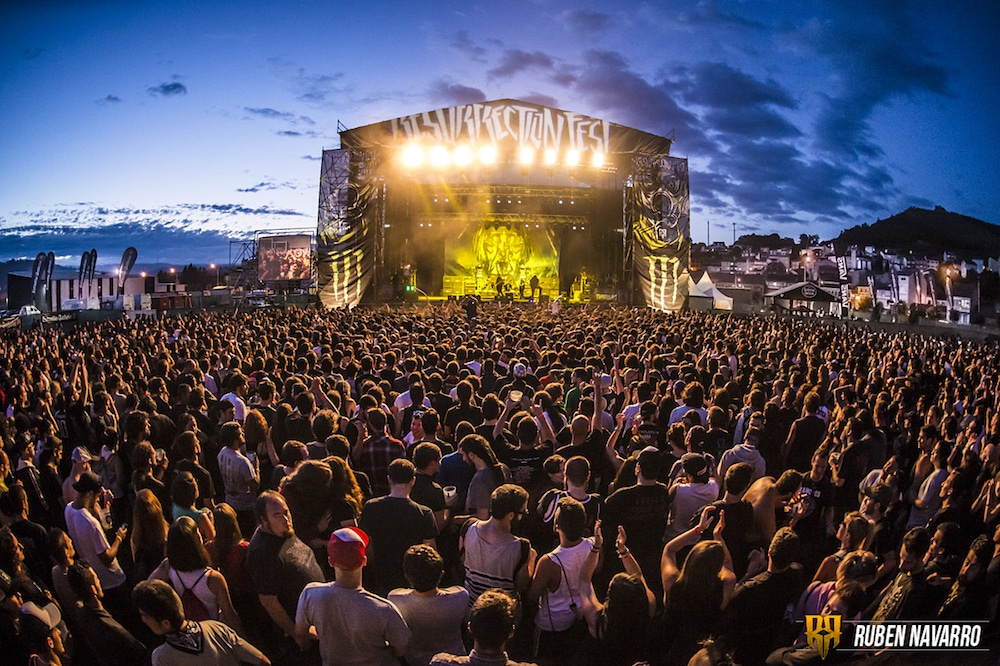 Resurrection Fest, Rammstein y Desakato premiados en los Iberian Festival Awards 2018